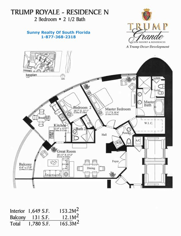 Floor plans for The world deck plans