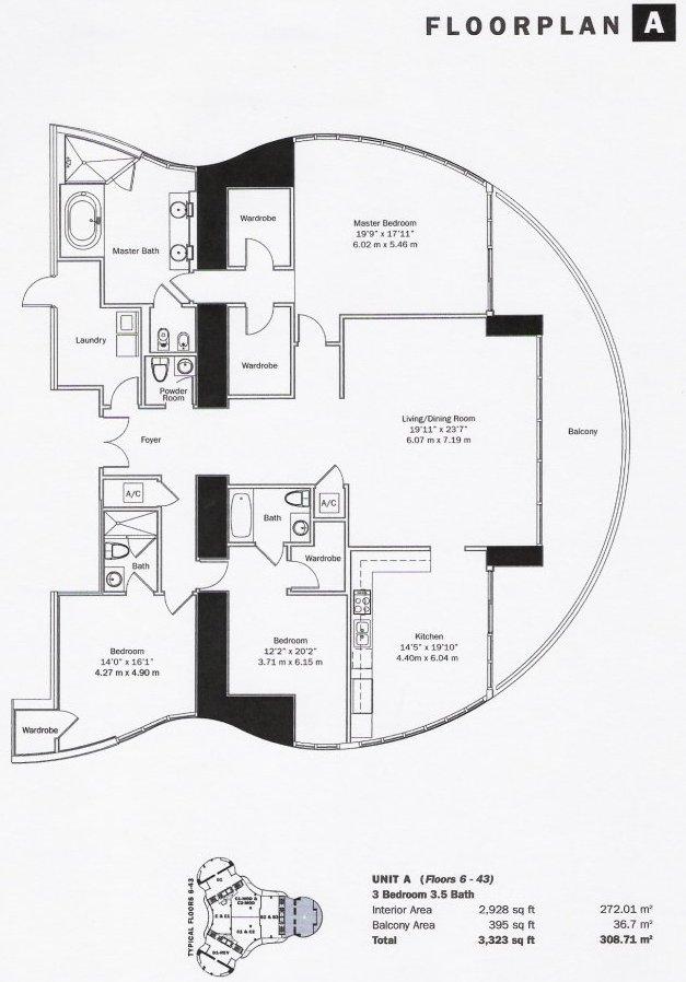 Floor Plans Trump Tower 3